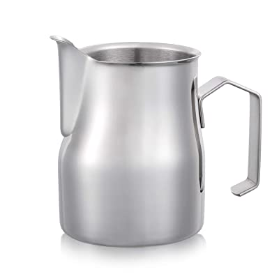 Magicafé Milk Frother Pitcher - Stainless Stee...