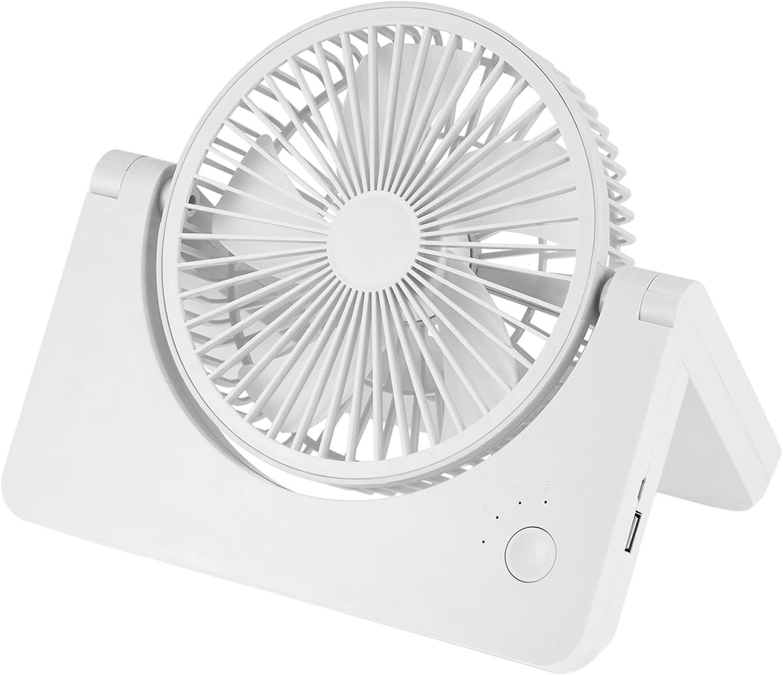 Japan Maker New Joshua USB Mini Desk Fan 6 Rechargeable 4800mAh 4 years warranty inch Op Battery