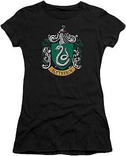 Harry Potter T Shirt Hogwarts School Logos Women's &