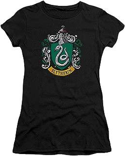 Harry Potter T Shirt Hogwarts School Logos Junior's Teen Girls T Shirt & Stickers
