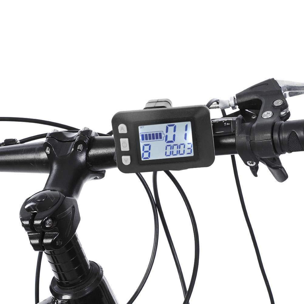 VGEBY Bicicleta eléctrica Controlador de Motor sin escobillas 24V ...