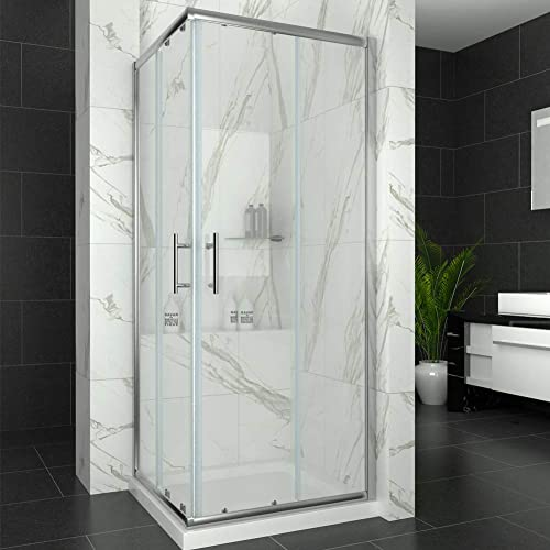 Shower Cubicles With Trays Amazon Co Uk