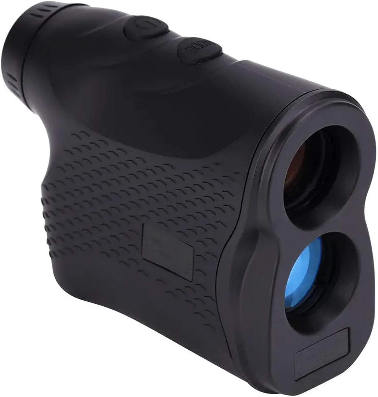 CuteLife Telémetro de Golf 900M Digital RANGEFINDER Distancia Meter Monocular Monocular Golf Caza de Caza Finder Medición de Velocidad para la Caza con Arco (Color : Black, Size : One Size)