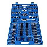 Cofanetto maschi e filiere, 110pezzi set di maschi m2-m18metrico Filiere con cofanetto...