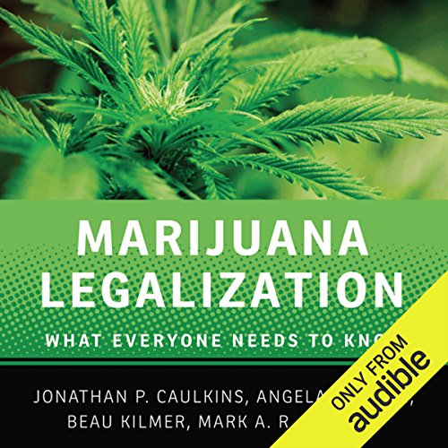 Marijuana Legalization audiobook cover art