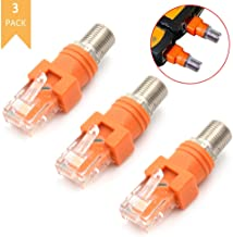 RJ45 Female To Female CAT6 Network Ethernet LAN Connector Adapter Coupler TEOC