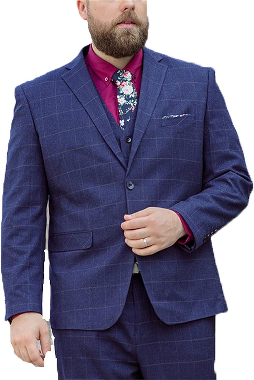Men's Casual Blazer Formal Business Suit Wedding Jackets, Plus Size Formal Coat Dinner Jacket Wedding Blazer Prom Tuxedo