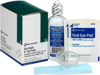 First Aid Only 7-600 6 Piece Eye Wash Kit