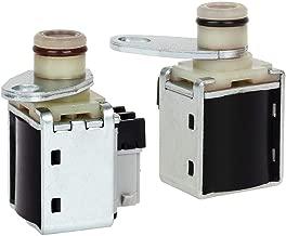 AUTEX 2pcs Transmission Shift A&B Solenoids Compatible With GM 4L80E 1991-Up 24230288 10478147