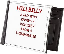 hillbilly billfold