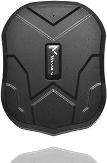 Winnes GPS Auto Localizzatore GPS Tracker 3 mesi Standby 5000 mAh Batterie Impermeabile Localizzatore gps in tempo reale p...
