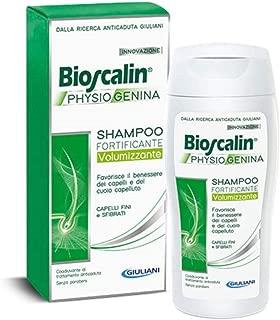 Bioscalin Physiogenina Fortifying Volumizing Shampoo 200ml - Hair Hygiene - Anti-Fall Treatment - Weak Hair - Wellness - Paraben-free - Innovative Complex - Proteins - Active Ingredients - Italy