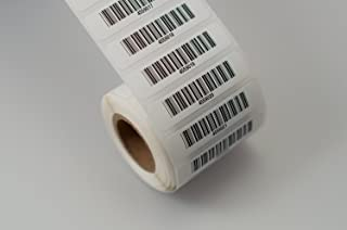 IntelliScanner Asset Tags - Pre-Printed Barcode Labels (Roll of 500)