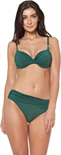 Bleu Rod Beattie Go for The Gold Parte Superior de Bikini Moldeada con Aros para Mujer