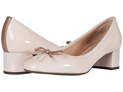 Rockport Total Motion Sydney Bow Pump (Rosewater) Women