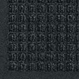 M+A Matting - 280540068 WaterHog Fashion Commercial-Grade Entrance Mat, Indoor/Outdoor Charcoal Floor Mat 8' Length x 6' Width, Charcoal by