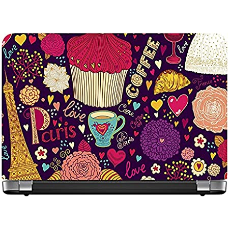 AY Fashion's Laptop Skins Decal Sticker Back Cover for Dell, Hp, Toshiba, Acer, Asus & All Models (Self Adhesive Vinyl, Upto 15.6 inches)_170a