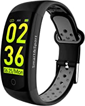 Smart Watch Heart Rate Blood Pressure Monitor Activtiy Tracker 3D Watchproof Watch Call Reminder Fitness Tracker for Men W...