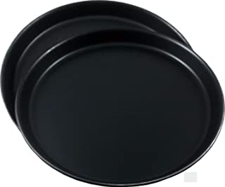 TURK Set aus 2 Profi Pizzablechen, hochwertiges Blaublech, D
