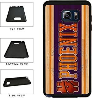 BleuReign(TM) Basketball Team Hashtag Phoenix #Phoenix TPU RUBBER SILICONE Phone Case Back Cover For Samsung Galaxy S8