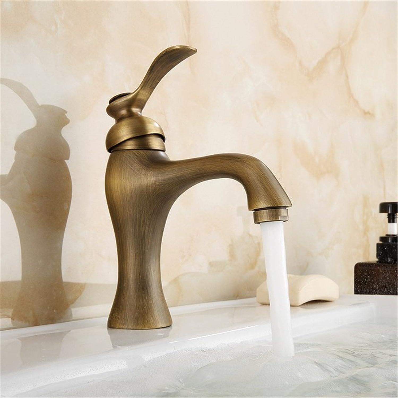 Lvsede Bad Wasserhahn Design Küchenarmatur Niederdruck Messing Heien Und Kalten Einhand-Einloch-Retro-Küchenspüle L6303
