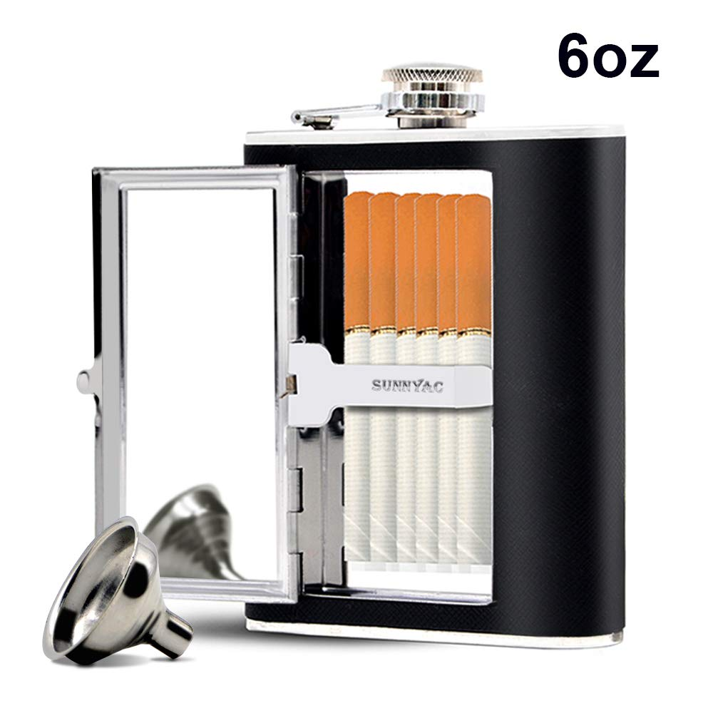 Sunnyac Stainless Leak proof Cigarette Including