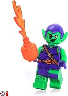 LEGO Super Heroes: Spider-Man Minifigure - Green Goblin (with Pumpkin Shooter) 10687
