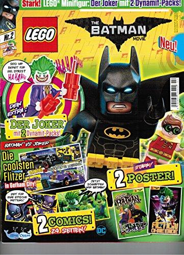 Lego The Batman Movie - Ausgabe 2 - inkl. Lego The Joker Minifigur [Zeitschrift]