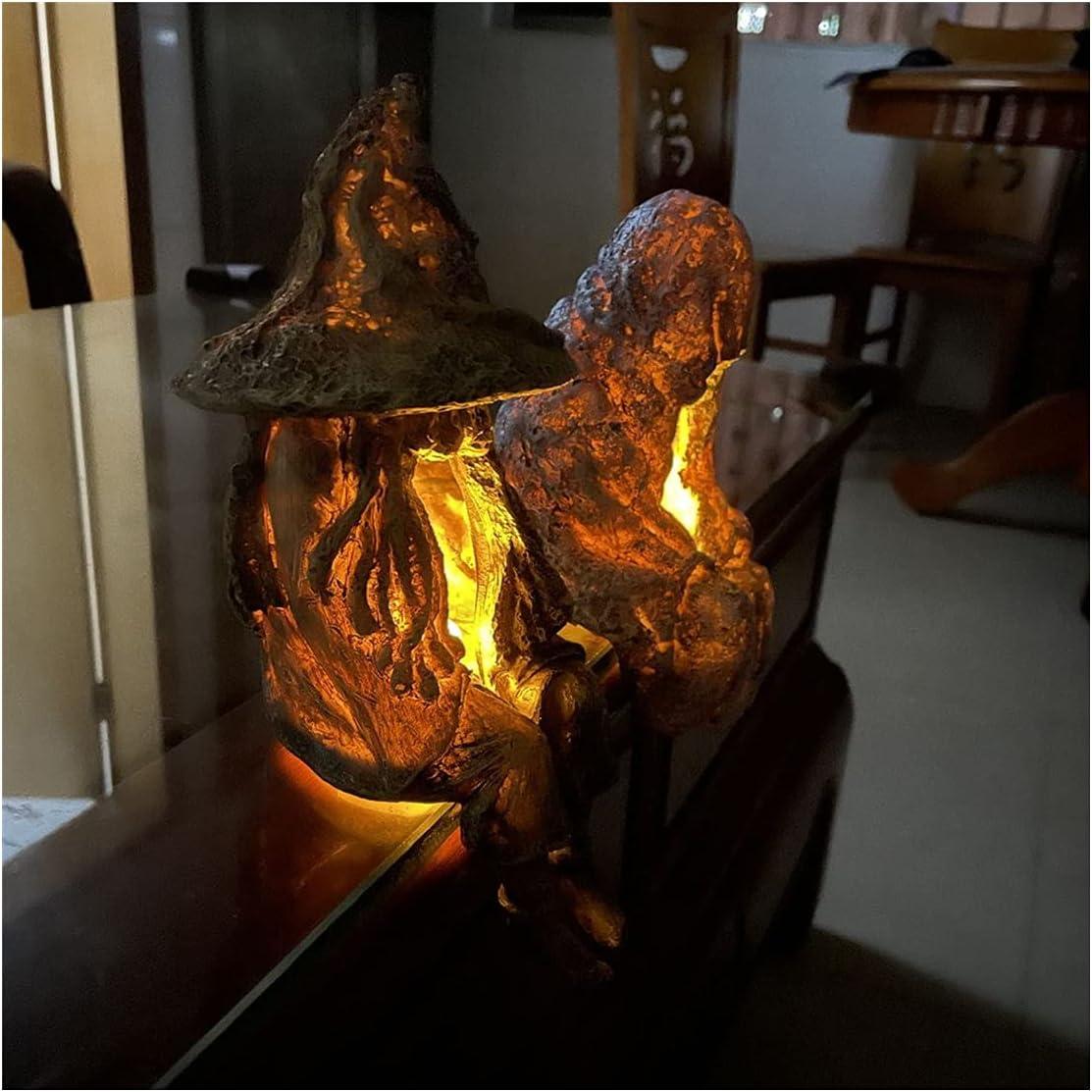 FA.cbj3 Witch Ghoul Solar San Francisco Mall Energy Led Lamp 40% OFF Cheap Sale Li Garden