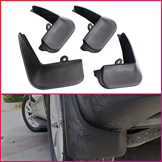Maite Car Front and Rear Mud Flaps Splash Guards Fender Mudguard for Hyundai ACCENT 2006-2010 Sedan 4Pcs