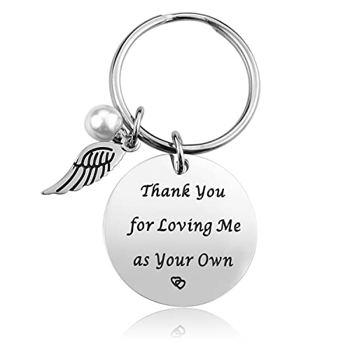 Step Mother Mom Keychain Gifts