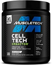 Creatine Powder | MuscleTech Creactor | Max-Potency Muscle Builder Creative HCl Formula | Creatine HCl Powd...