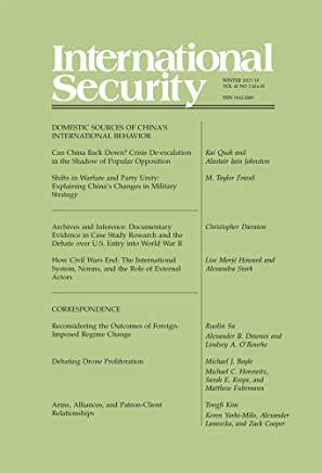 International Security 42:3 (Winter 2017/18)