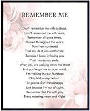Memorial Remembrance Gift for Loved Ones - Encouragement Gift for Cat, Dog, Pet Owners - Sentimental Remember Me Wall Art,...