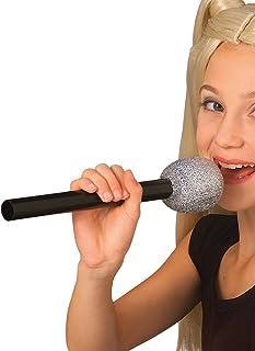 Glitter Microphone Costume Accessory