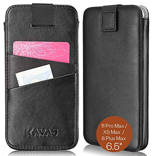 Kavaj iPhone XS Max Leather Wallet Case