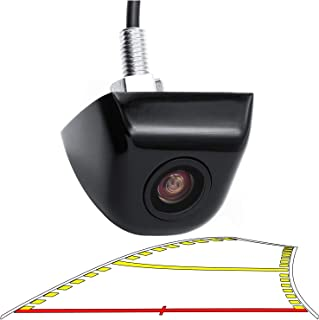 GreenYi Car Backup Camera with Dynamic Trajectory Guide Line, HD 960x720 Rear View Camera Waterproof Night Vision 155 Degr... photo