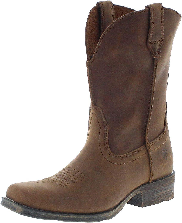 Ariat Damen Cowboy Stiefel 17326 Rambler Westernreitstiefel Lederstiefel