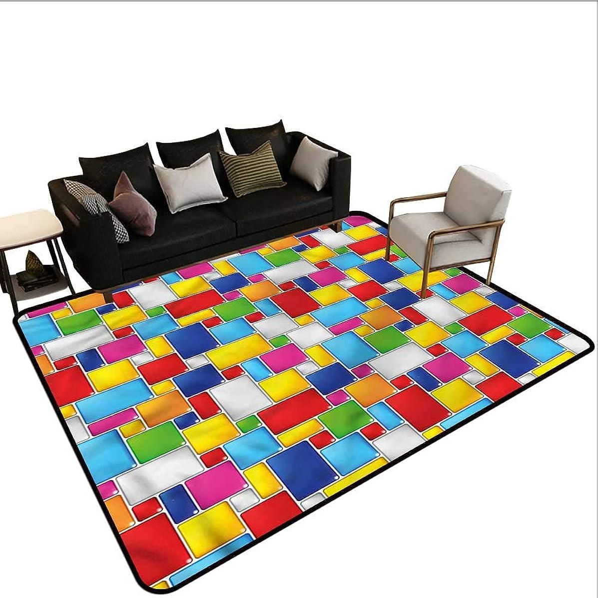 Colorful,Thin Non-Slip Kitchen Bathroom Carpet 64