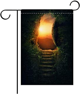 BEICICI Double Sided Premium Garden Flag Stone Rolled Away Best for Party Yard and Home Outdoor Decor