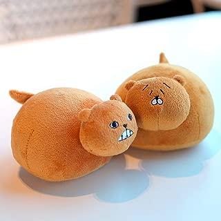 futurecos Himouto Umaru Chan DOMA Umaru Pet Hamster Hamm Stuffed Toys Cosplay Accessories Stuffed Doll Toys Anime UMR Anime Plush Doll Toys 15CM 2 Pieces