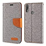 ZTE Blade V10 Case, Oxford Leather Wallet Case with Soft