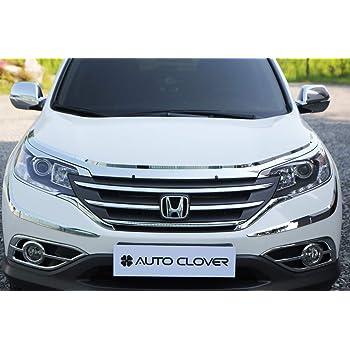 Autoclover Chrome Bonnet Protector Guard Set for Honda CRV 2016+ 3 pieces