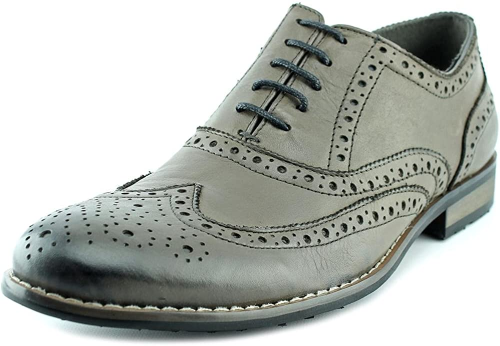Steve Madden Mens P-Hekman Wingtip Oxford Shoes