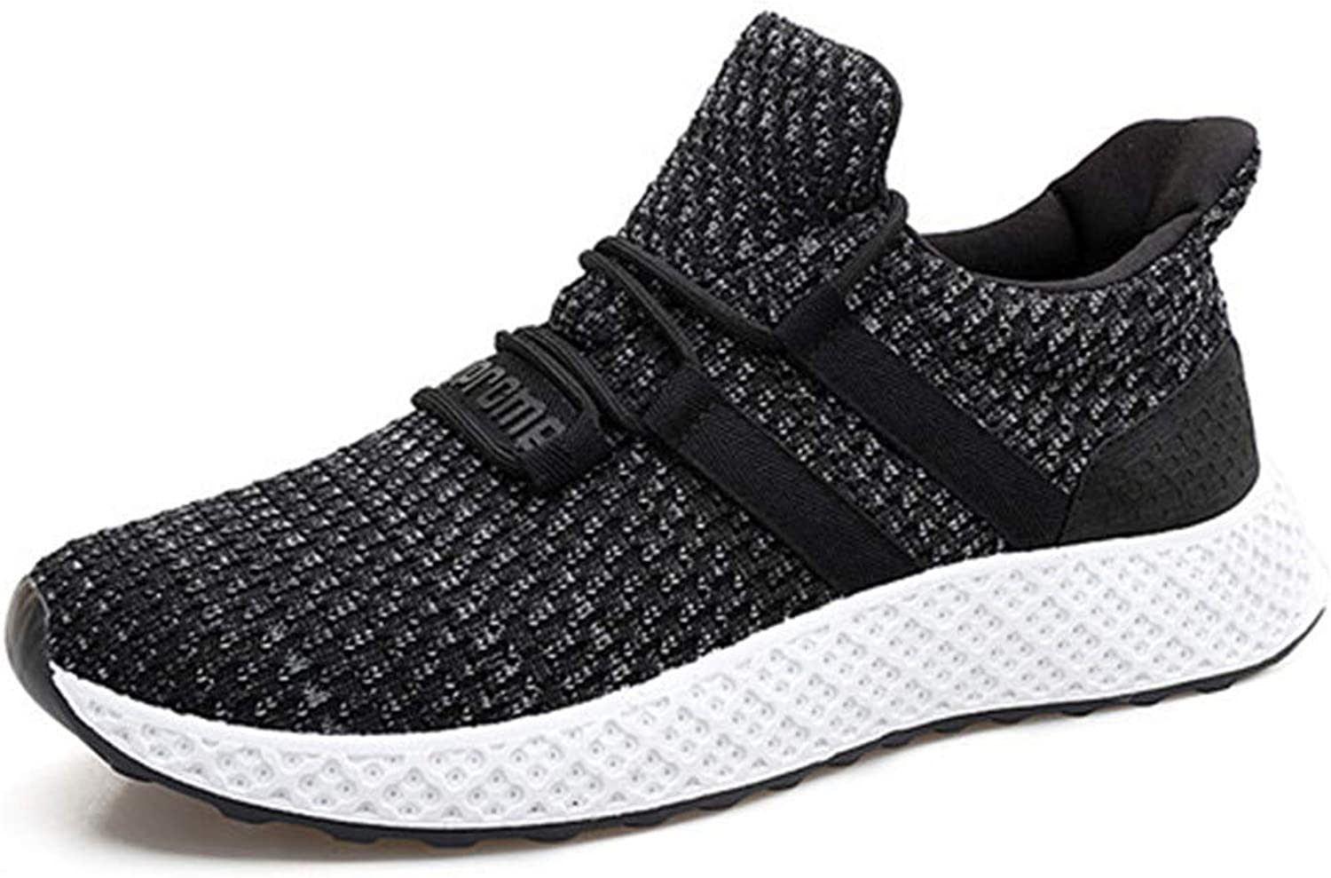 Autumn and winter models low to help fly woven mesh shoes men fly fashion casual wear running shoes