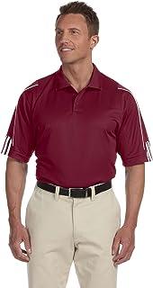 Adidas Men's 3-Stripes Contrast Piping Polo Shirt,...