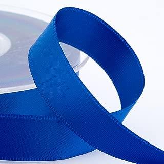 16 mm x 25 m Kellys Wedding World Nastro Satinato Blu Reale Colore