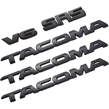 New 3PCS Set of TACOMA Door Fender Emblem Decal Badge Nameplate for 2016-2019 TACOMA