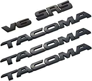Best blacked out tacoma emblems Reviews