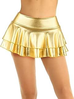 Adulte Homme Sissy Mini Jupe Femmes Tennis patineuse à volants courte robe club Costume